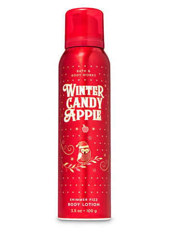 Winter Candy Apple Shimmer Fizz Body Lotion - Bath And Body Works