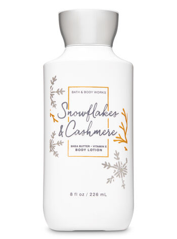Snowflakes & Cashmere Super Smooth Body Lotion - Bath And Body Works