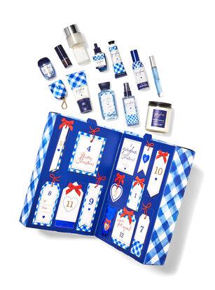 Gingham Advent Calendar Gift Set