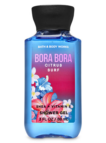 Bora Bora Citrus Surf Travel Size Mini Shower Gel - Bath And Body Works