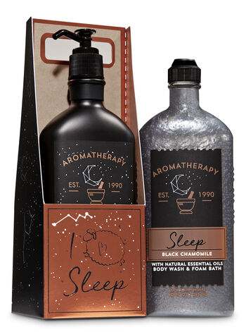 Aromatherapy Black Chamomile I Love Sleep Gift Set - Bath And Body Works