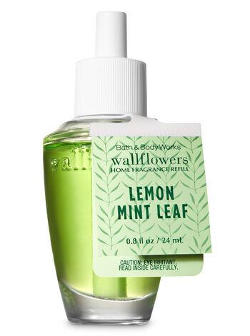 Lemon Mint Leaf Wallflowers Fragrance Refill - Bath And Body Works