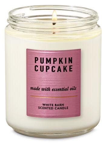 Pumpkin Cupcake Single Wick Candle - Bath And Body Works