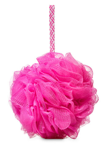 Pink Mesh Shower Sponge - Bath And Body Works
