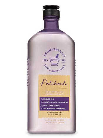 Aromatherapy Patchouli Essential Oil Body Wash - Bath And Body Works