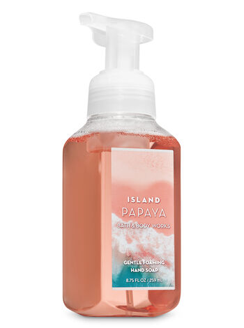 Island Papaya Gentle Foaming Hand Soap - Bath And Body Works