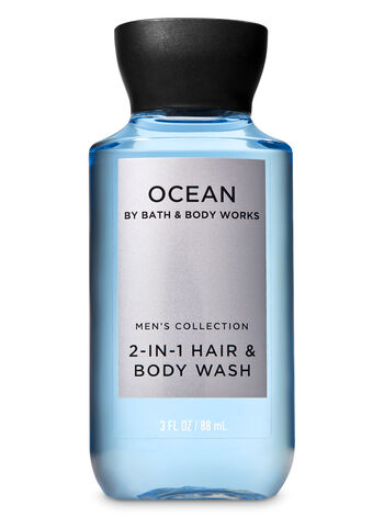 Ocean Travel Size 2-in-1 Hair + Body Wash - Bath And Body Works