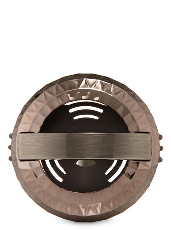 Faceted Metallic Vent Clip Car Fragrance Holder
