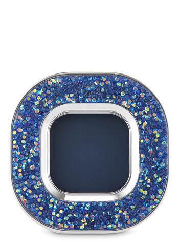 Iridescent Glitter Bevel Visor Car Fragrance Holder