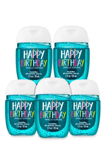 Vanilla Cupcake PocketBac Hand Sanitizer, 5-Pack - Bath And Body Works