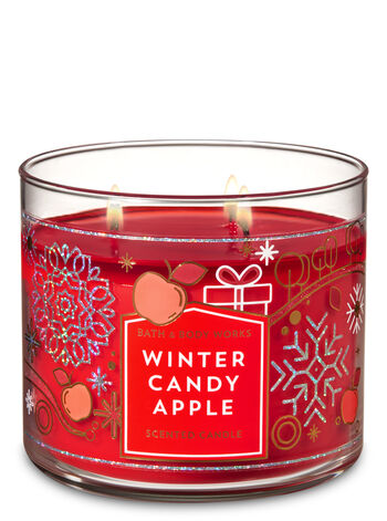 Winter Candy Apple 3 Wick Candle Bath Amp Body Works