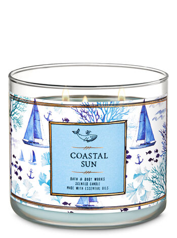 Coastal Sun 3-Wick Candle - Bath And Body Works
