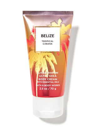 Belize Tropical Cabana Travel Size Body Cream