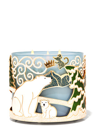 Arctic Critters 3-Wick Candle Holder