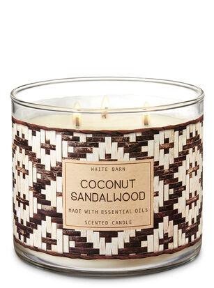 Coconut Sandalwood 3-Wick Candle