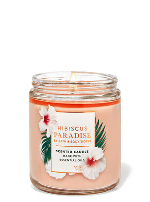 Hibiscus Paradise Single Wick Candle