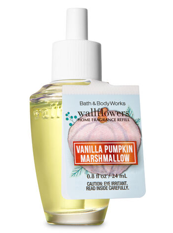 Vanilla Pumpkin Marshmallow Wallflowers Fragrance Refill - Bath And Body Works