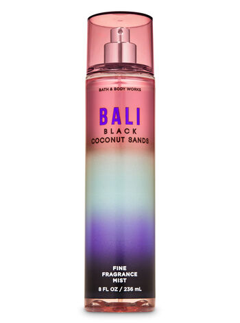 Bali Black Coconut Sands Fine Fragrance Mist - Bath And Body Works