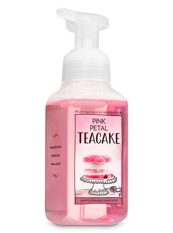 Pink Petal Tea Cake Gentle Foaming Hand Soap - Bath And Body Works