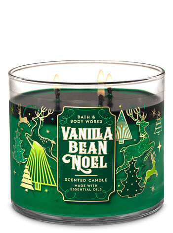 Vanilla Bean Noel 3-Wick Candle - Bath And Body Works