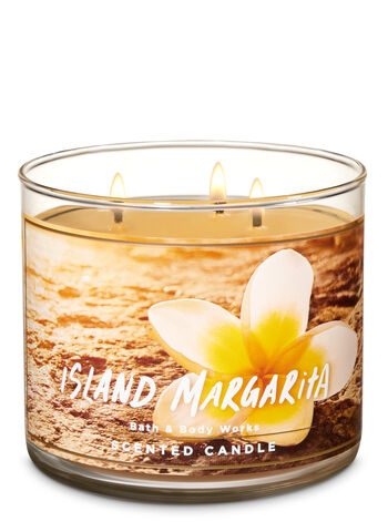 Island Margarita 3-Wick Candle - Bath And Body Works