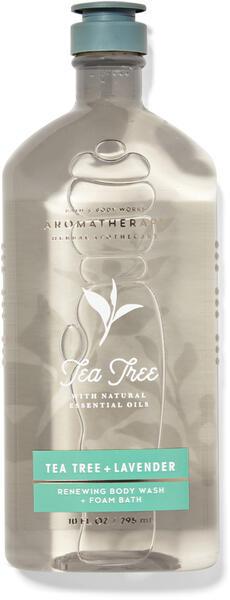 Tea Tree Lavender Body Wash and Foam Bath