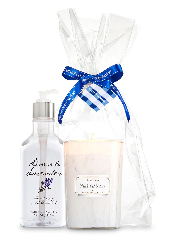 Lavender Favorites Scents Suds Gift Kit Bath Body Works