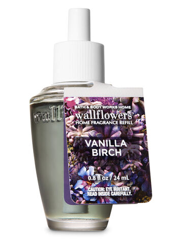 Vanilla Birch Wallflowers Fragrance Refill - Bath And Body Works