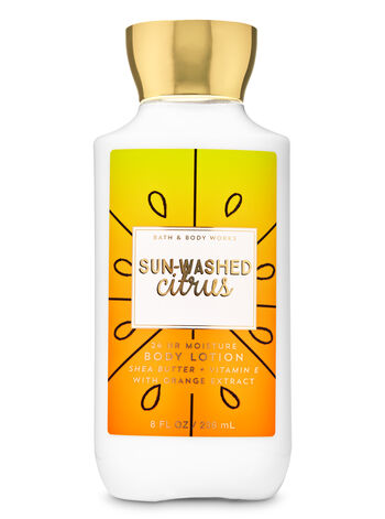 Sun-Washed Citrus Super Smooth Body Lotion - Bath And Body Works