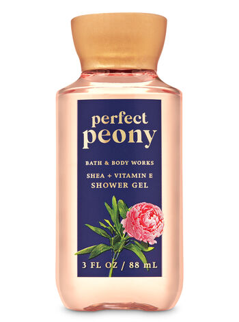 Perfect Peony Travel Size Shower Gel - Bath And Body Works