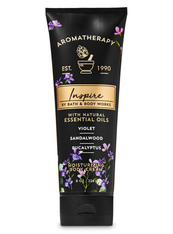 Aromatherapy Violet Sandalwood Eucalyptus Body Cream - Bath And Body Works