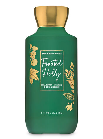 Frosted Holly Super Smooth Body Lotion - Bath And Body Works