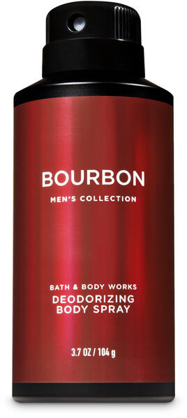 Bourbon Deodorizing Body Spray