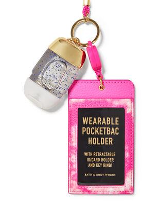 Wearable Tie Dye ID Card PocketBac Holder