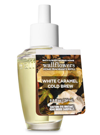 White Caramel Cold Brew Wallflowers Fragrance Refill - Bath And Body Works