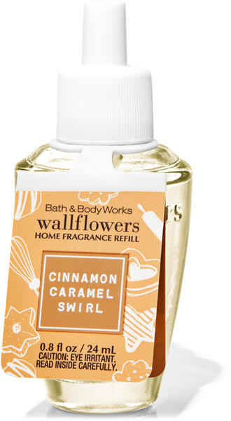 Cinnamon Caramel Swirl Wallflowers Fragrance Refill