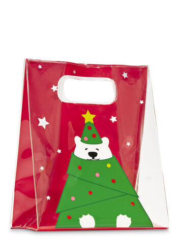 Holiday Bear Gift Bag - Bath And Body Works