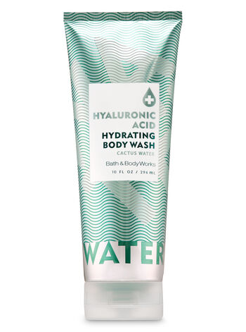 Cactus Water Hyaluronic Acid Hydrating Body Wash - Bath And Body Works