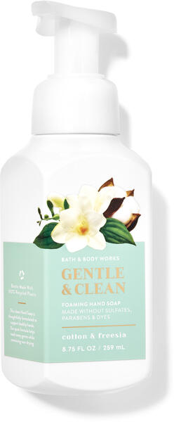 Cotton & Freesia Gentle & Clean Foaming Hand Soap