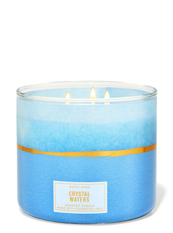 Crystal Waters 3-Wick Candle