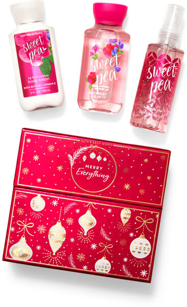 Sweet Pea Mini Gift Box Set