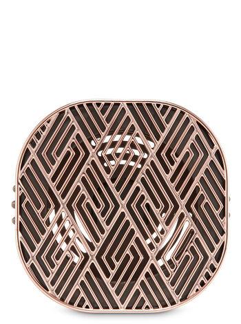 Diamond Zigzag Vent Clip Car Fragrance Holder