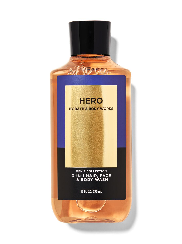 Hero 3-in-1 Hair, Face & Body Wash