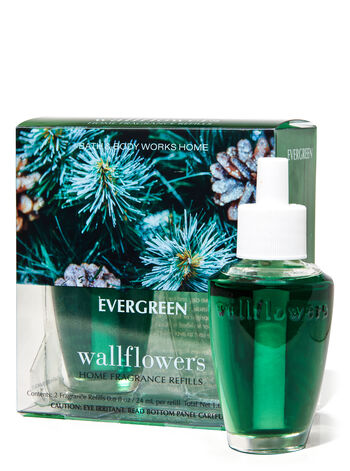 Evergreen Wallflowers Refills, 2-Pack