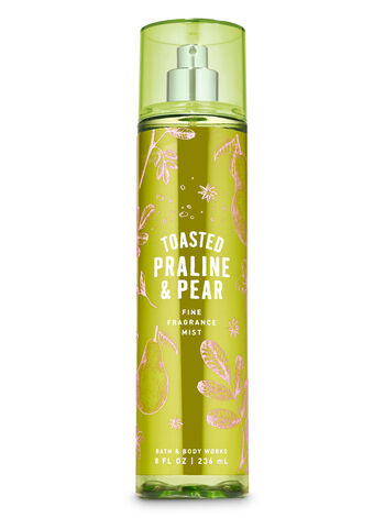 Toasted Praline & Pear Fine Fragrance Mist - Bath And Body Works