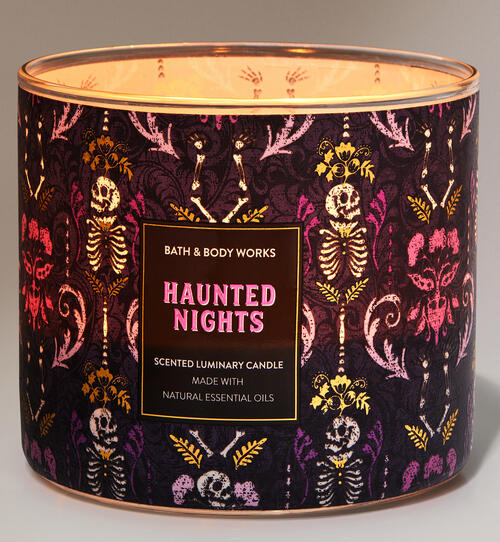 Haunted Nights 3-Wick Candle