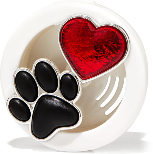 Paw & Heart Vent Clip Car Fragrance Holder