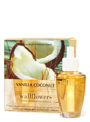 Vanilla Coconut Wallflowers Refills 2-Pack