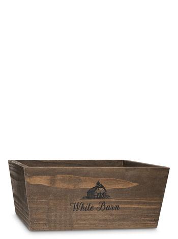 White Barn Wood Crate Gift Box - Bath And Body Works