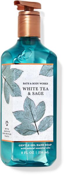 White Tea & Sage Gentle Gel Hand Soap
